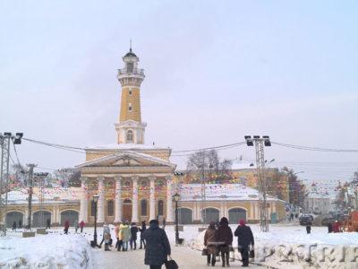 Каланча, Сусанинская площадь, Кострома
