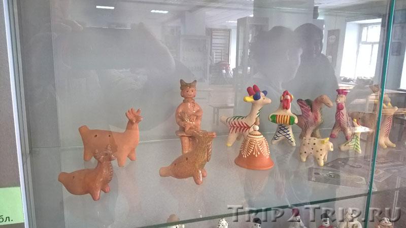 Карачунская игрушка, музей петровской игрушки, Кострома
