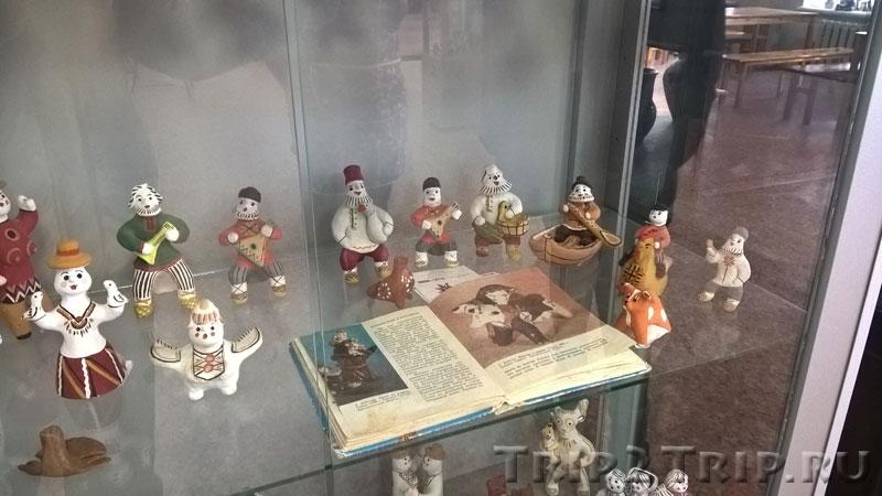 Каргапольская игрушка, музей петровской игрушки, Кострома