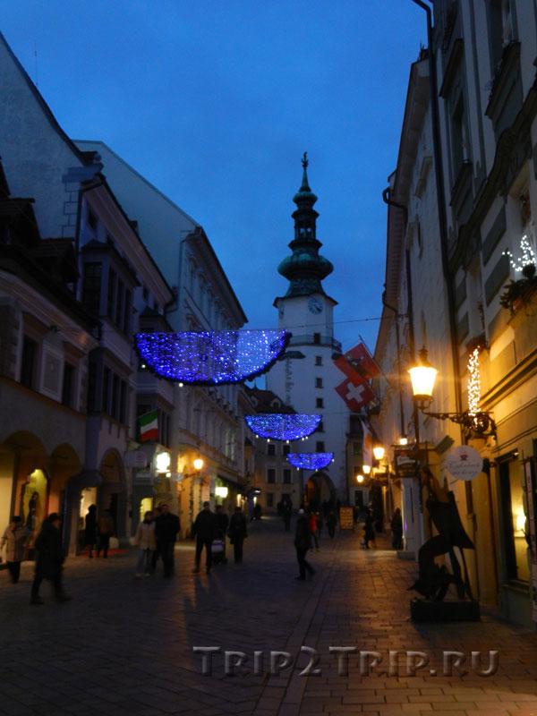Михайловские ворота, Братислава
