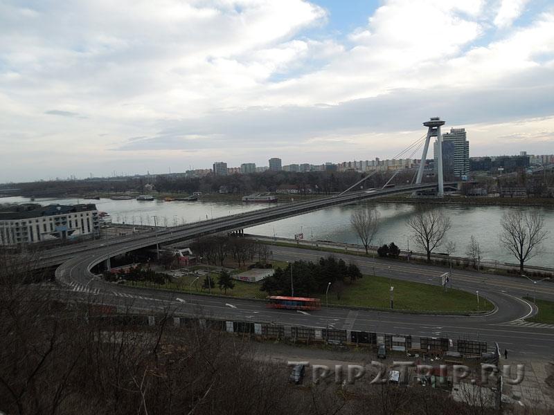 Новый мост (Мост СНП), Братислава