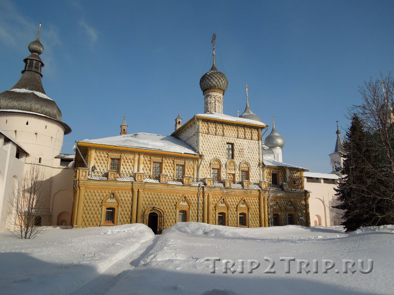 Церковь Одигитрии, кремль, Ростов Великий