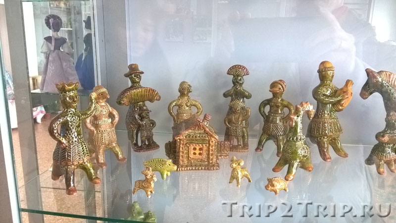 Разные петровские игрушки, музей петровской игрушки, Кострома