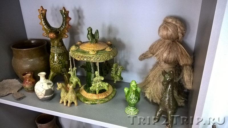 Петровская игрушка - карусель, музей петровской игрушки, Кострома