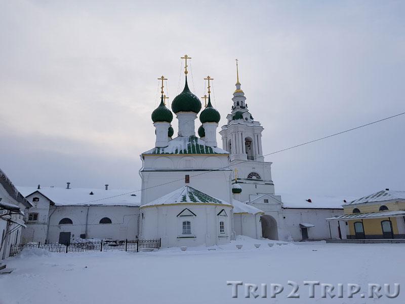 Церковь Спаса в Рядах, Торговые Ряды, Кострома