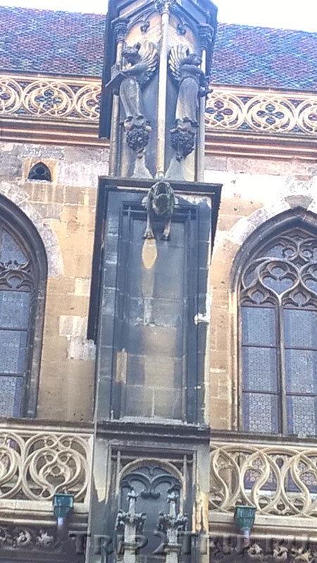 Фрагмент собора Сен-Тибо, Тан