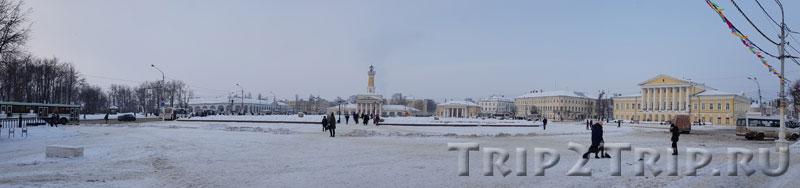 Панорама Сусанинской площади, Кострома
