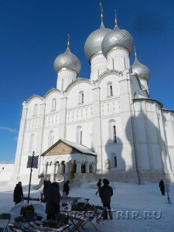 Успенский собор, кремль, Ростов Великий