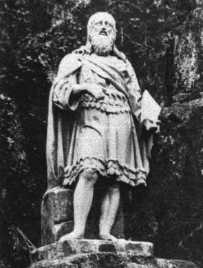 Первая статуя Вяйнямейнена, парк Монрепо, Выборг