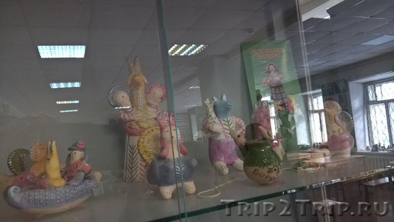 Воронежская игрушка, музей петровской игрушки, Кострома