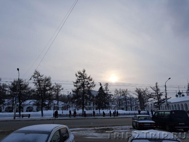 Воскресенский сквер, Кострома