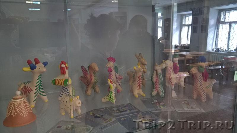 Кожлянская игрушка, музей петровской игрушки, Кострома