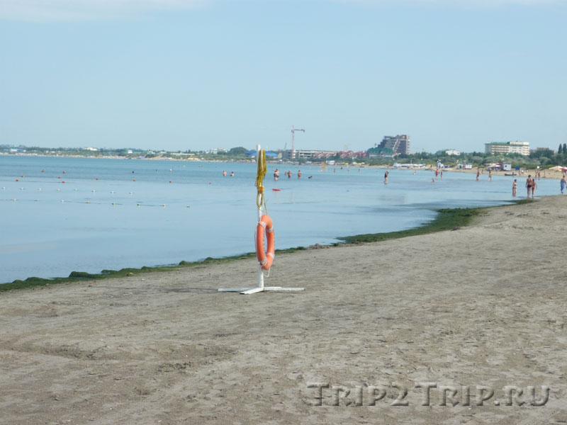 """Дикий пляж севернее """"Янтаря"""", Анапа"""
