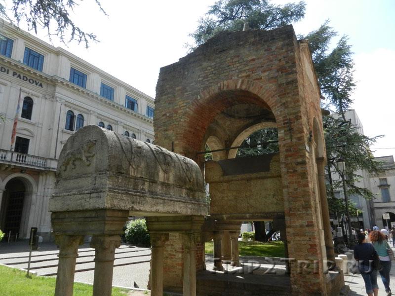 Гробница Антенора, Падуя