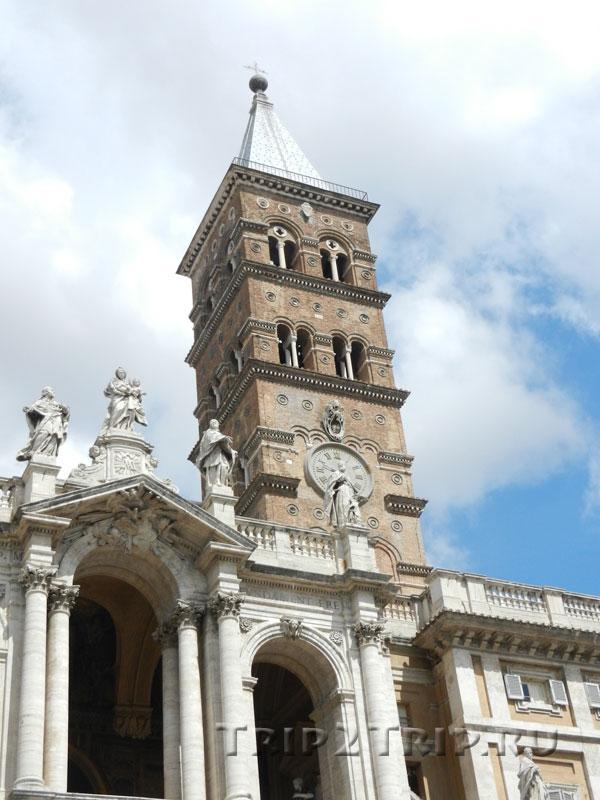 Колокольня базилики Санта-Мария-Маджоре, Рим