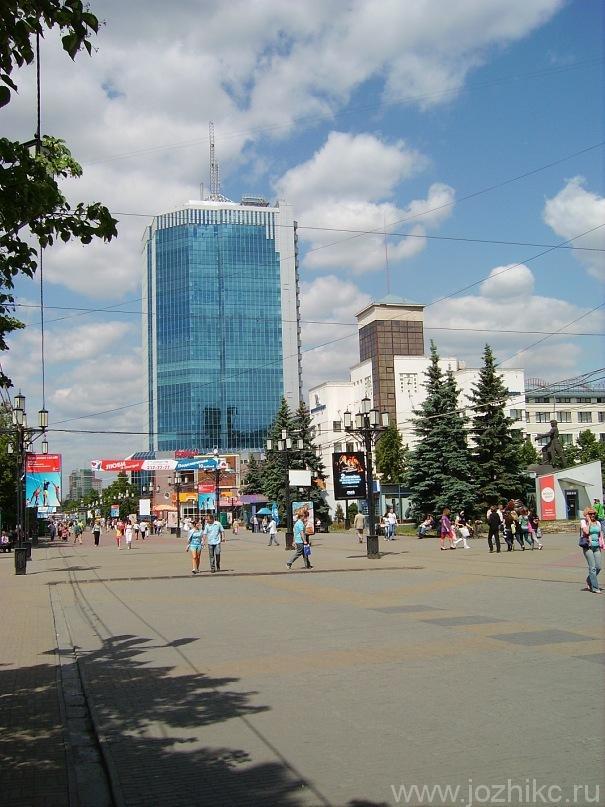 Челябинск-Сити, Кировка (Челябинский Арбат)