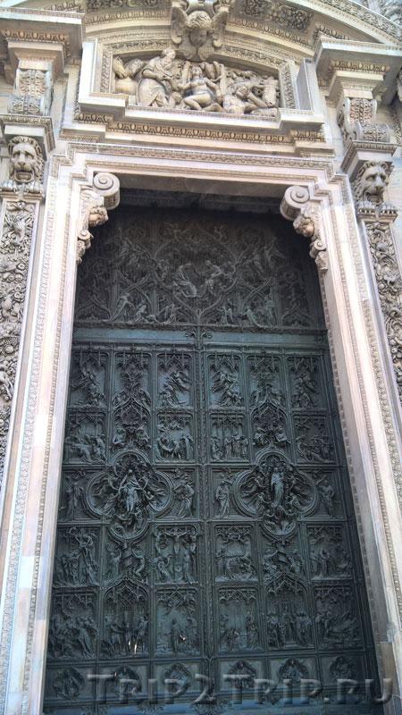 Ворота миланского собора
