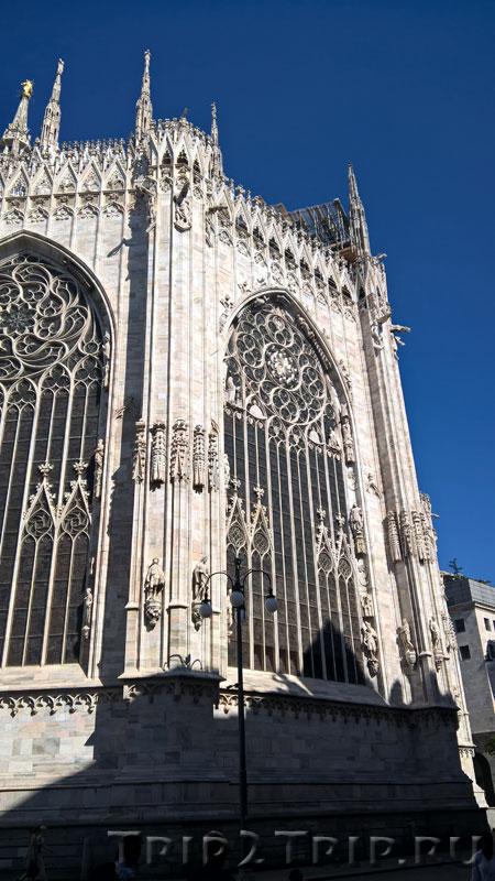 Миланский собор, фрагмент