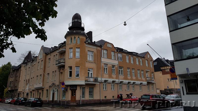 Финский модерн в квартале Eira, Хельсинки
