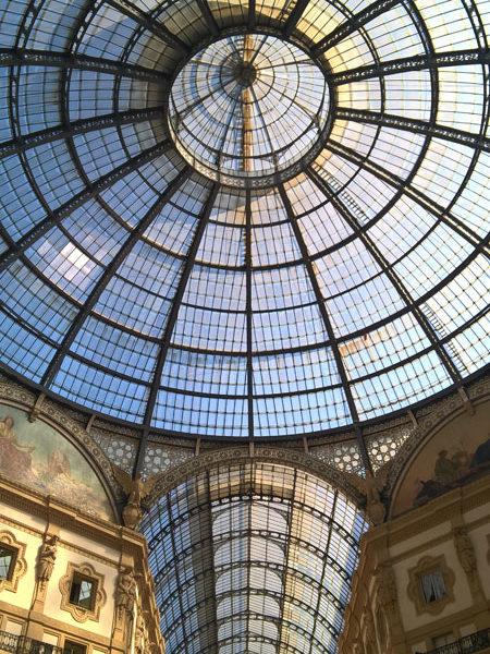 Купол Галереи Виктора Эммануила II, Милан