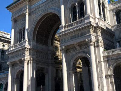 Галерея Виктора Эммануила II, Соборная площадь (Piazza Duomo), Милан
