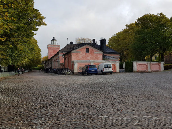 Главные ворота, она же Береговая казарма, Суоменлинна (Свеаборг), Хельсинки