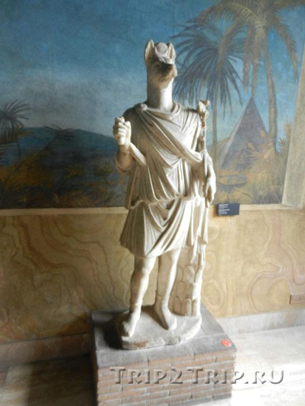 Германубис, вид анфас, Ватиканские музеи