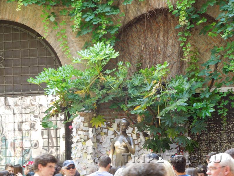 Статуя Джульетты, Верона