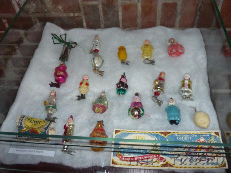 Ёлочные игрушки 1950-х, Музей Фридландские ворота, Калининград