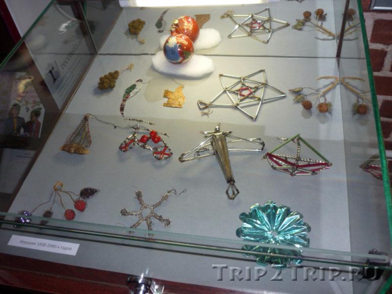 Ёлочные игрушки 1930-40-х, Музей Фридландские ворота, Калининград