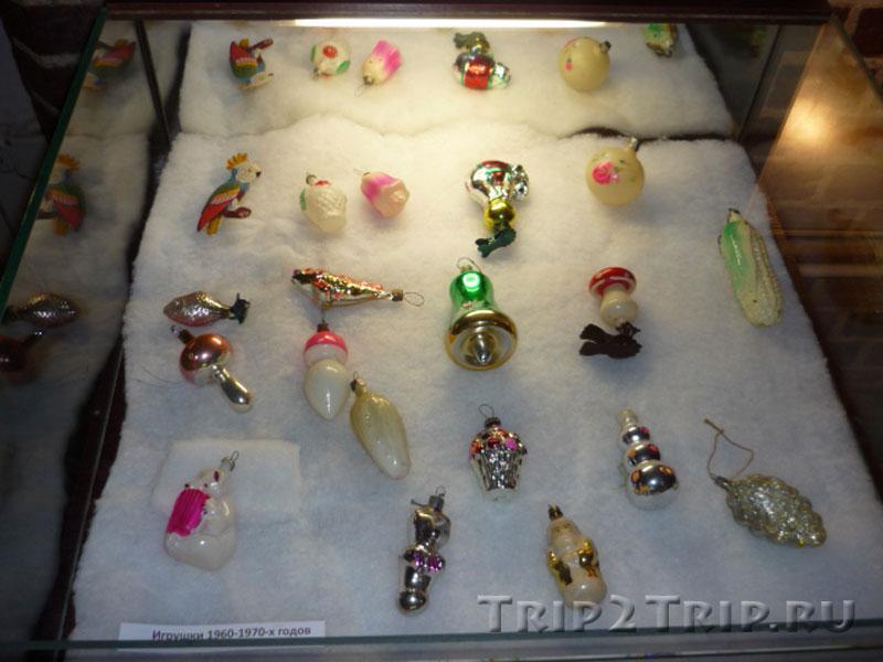 Ёлочные игрушки 1960-70-х, Музей Фридландские ворота, Калининград