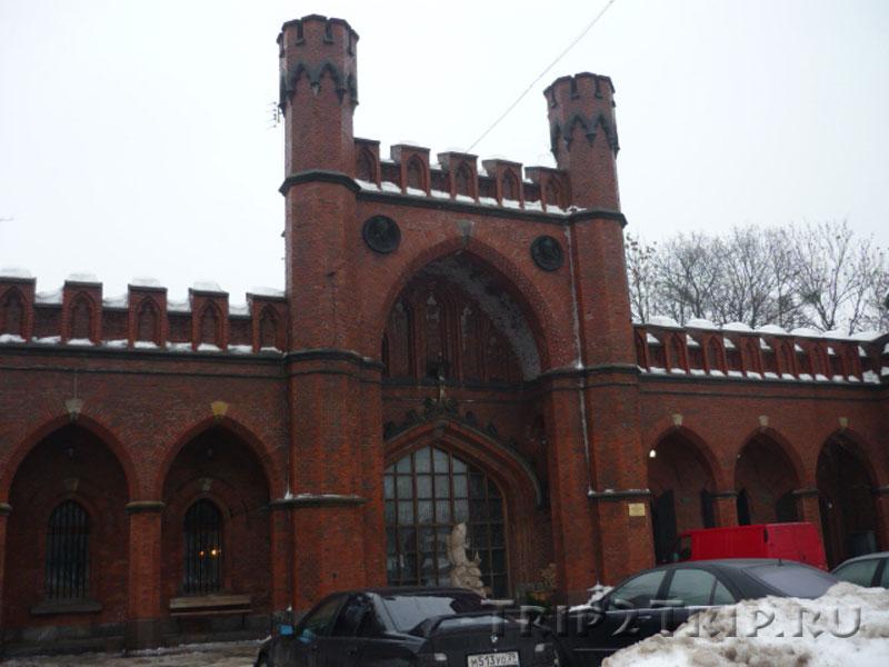 Росгартенские ворота, Музей янтаря, Калининград