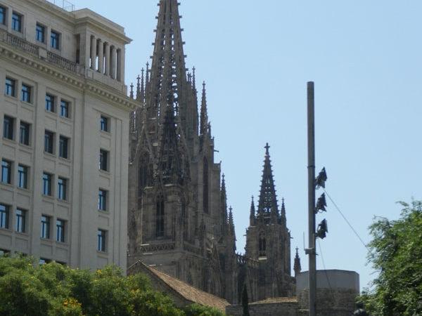 Шпиль кафедрального собора, Готический квартал, Барселона