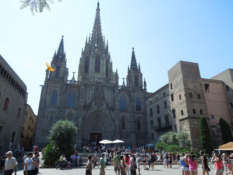 Кафедральный собор, Готический квартал, Барселона