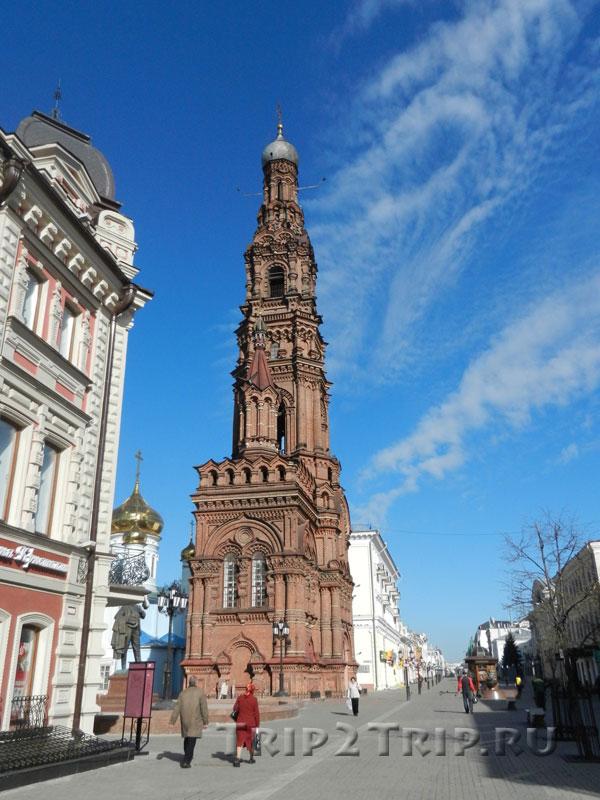Богоявленская колокольня, улица Баумана, Казань