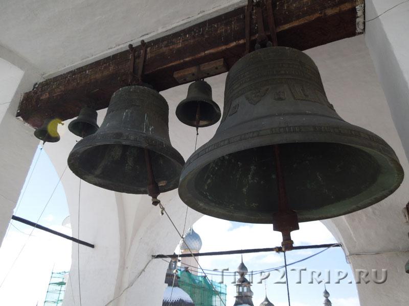 Колокола на колокольнице, Ростовский кремль