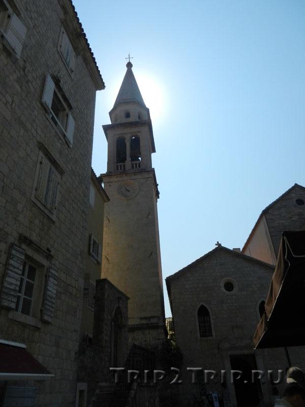Колокольня собора Св. Иоанна Крестителя, Будва