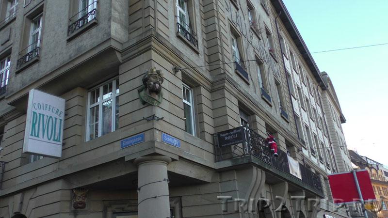 """Отель """"Три волхва"""" у Среднего моста, Базель"""