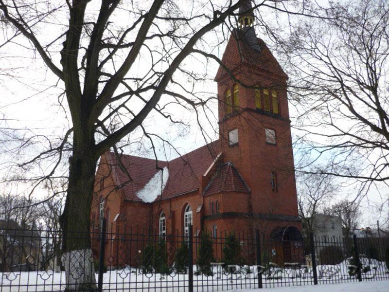 Спасо-Преображенская церковь, ул. Московская, Зеленоградск (Кранц)