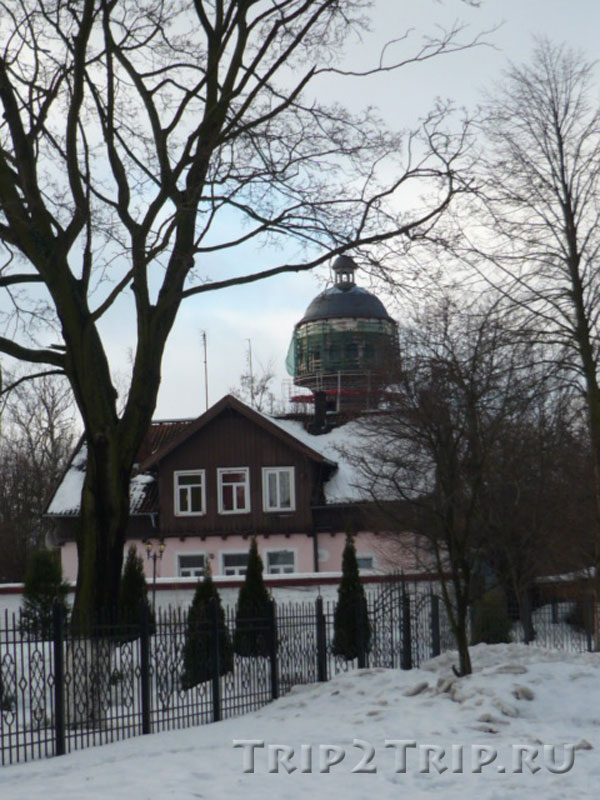 Водонапорная башня, Зеленоградск (Кранц)