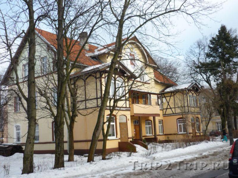 Дом на Московской улице, Зеленоградск (Кранц)
