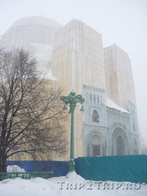 Морской Никольский собор в январе 2010, Кронштадт