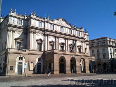 Театр Ла Скала, Пьяцца-делла-Скала, Милан