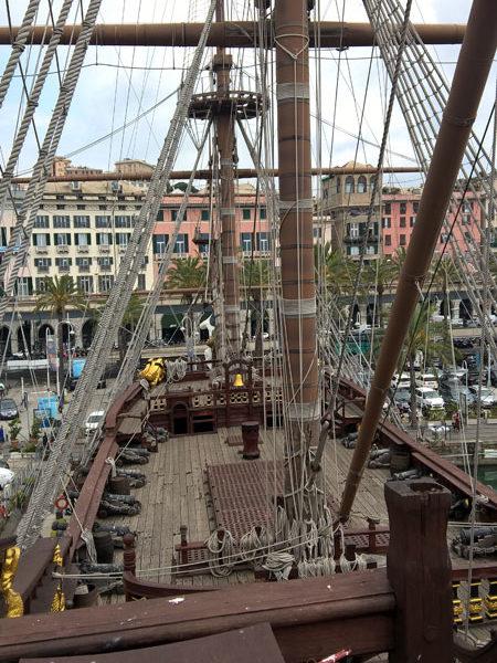 "Галеон ""Нептун"", Старый порт, Генуя"