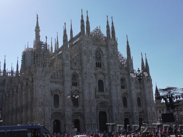 Кафедральный собор, Соборная площадь, Милан