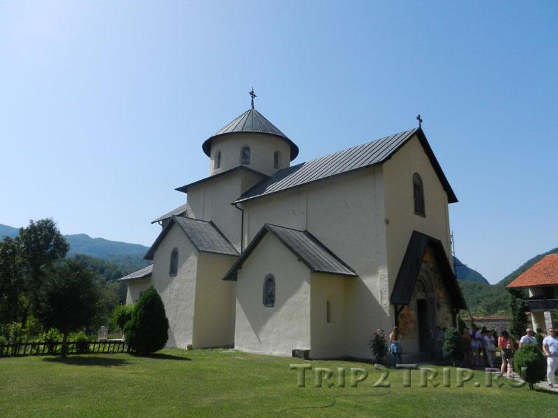 Храм Успения Богородицы, монастырь Морача, Черногория