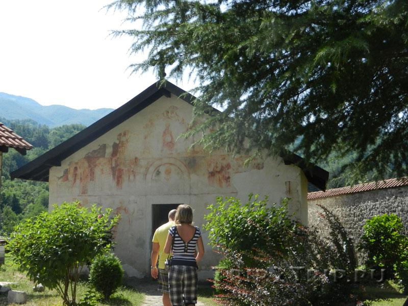Церковь Святого Николы, монастырь Морача, Черногория