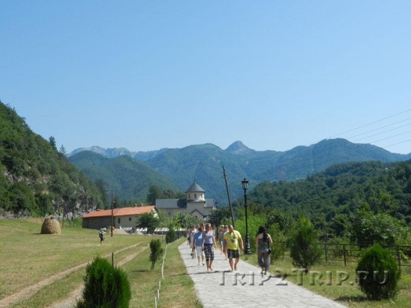 Монастырь Морача, Черногория