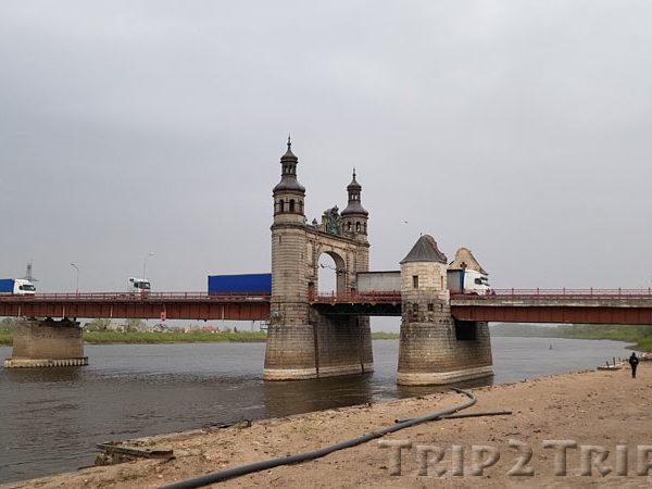 Мост королевы Луизы через реку Неман, Советск (Тильзит)