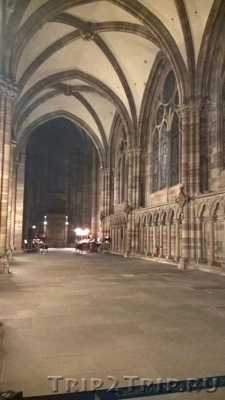 Боковой неф, страсбургский собор